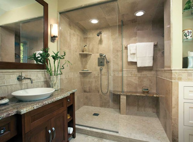 Bathroom Ideas Houzz Beauteous Bathroom Ideas  Contemporary  Bathroom  Other Decorating Design