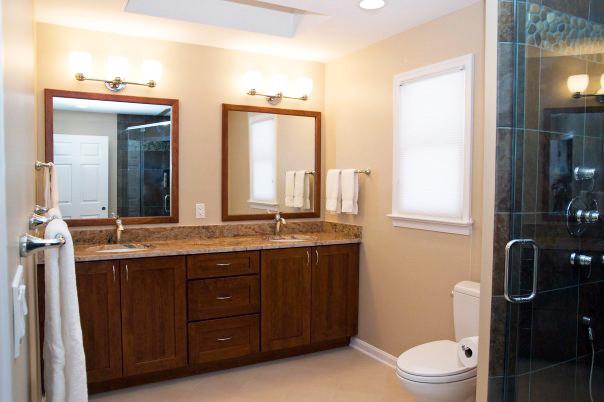 Bathroom In Mclean Virginia Modern Bathroom Dc Metro By Lensis Builders Inc
