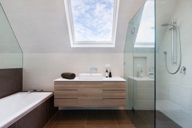 GIA Bathroom   Kitchen Renovations Bathroom Designers   Renovators  Bathroom  in the clouds contemporary bathroom. Bathroom in the clouds   Contemporary   Bathroom   Melbourne   by