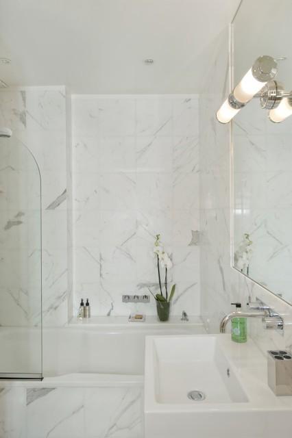 Bathroom - Interior Design - Knightsbridge, London contemporary-bathroom