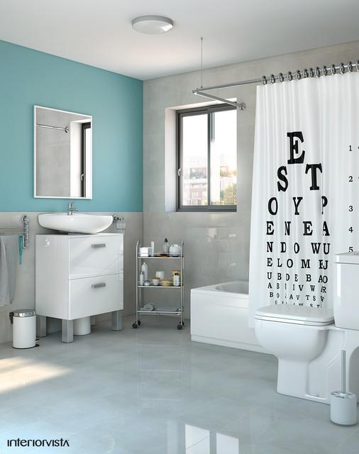Bathroom contemporary bathroom london by interiorvista