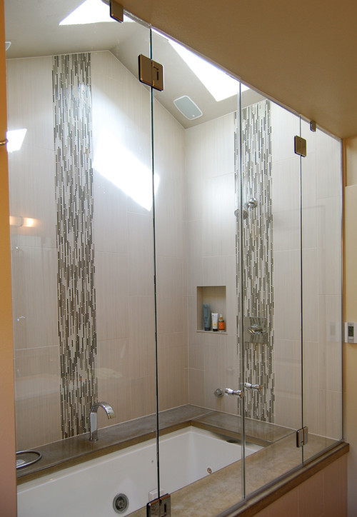 Does Steam shower work well with high vaulted ceiling and