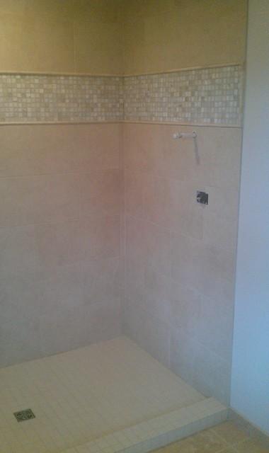 Bathroom Large Shower and Floor contemporary-bathroom