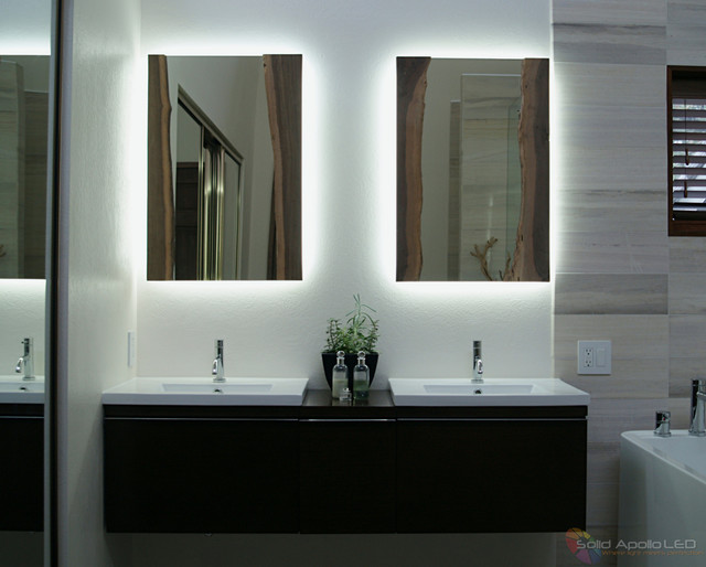 Bathroom Lighting Modern Seattle By Solid