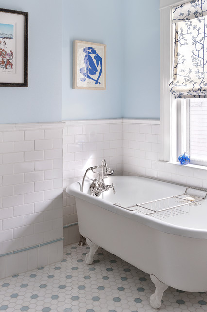 Bathroom Traditional Bathroom Boston By Mandarina Studio Interior Design