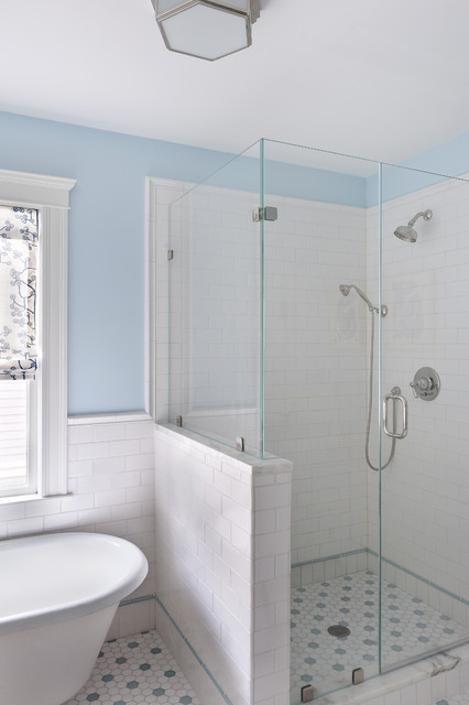Bathroom Eclectic Bathroom Boston By Mandarina Studio Interior Design