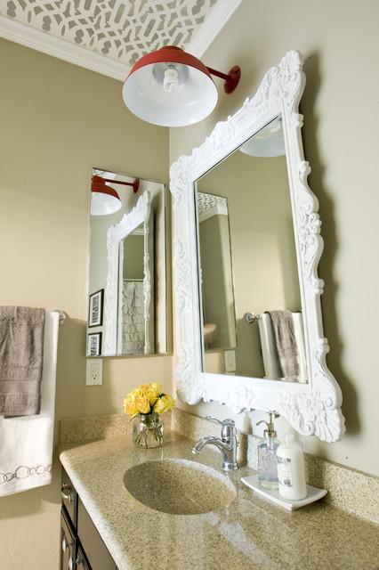 Bathroom. eclectic-bathroom