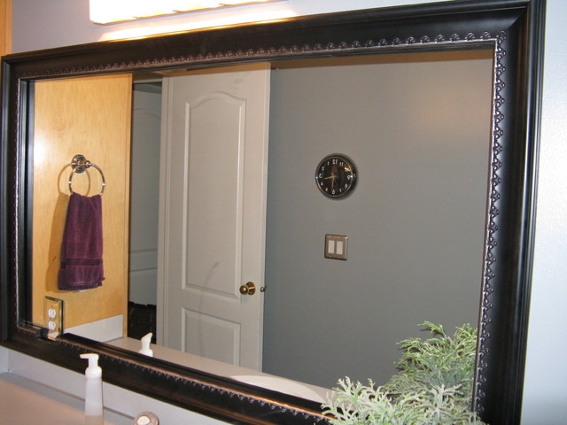 Bathroom Mirror Frame Traditional Bathroom Salt Lake