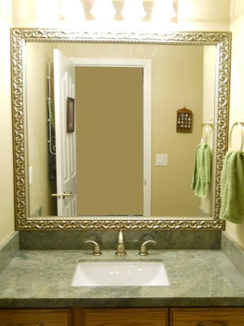 Bathroom Mirror Frame Traditional Bathroom Salt Lake City By Reflected Design Frames