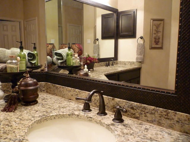 Custom Framed Bathroom Mirrors mirrormate - bathroom - charlotte -mirrormate