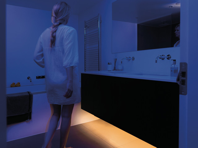 bathroom night light contemporary bathroom other