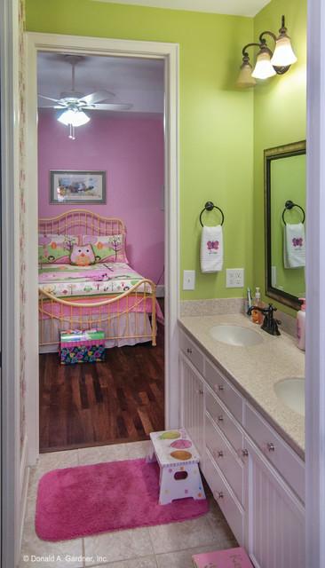 Bathroom of The Birchwood Plan #1239 - Craftsman - Bathroom - other metro - by Donald A. Gardner ...