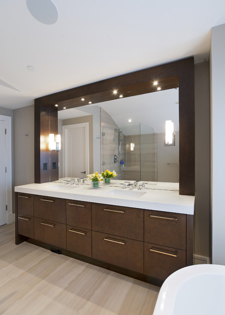 Bathroom Transitional Bathroom Vancouver By Old World Kitchens Custom Cabinets