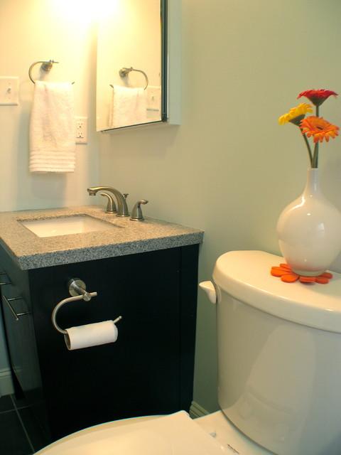 Bathroom on a Budget contemporary-bathroom