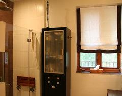 Bathroom organic style contemporary-bathroom