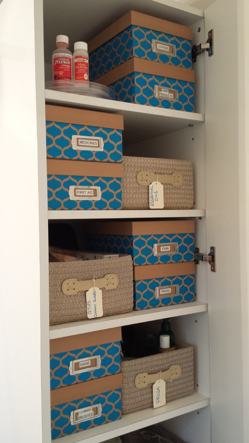 Bathroom Pantry Organizing by Organize Don