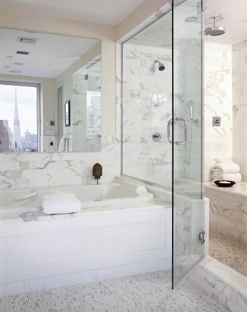 Bathroom contemporain salle de bain new york par for Salle de bain new york