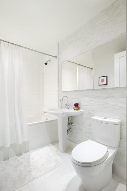 Bathroom modern bathroom new york by prestige for Bathroom remodel 10k