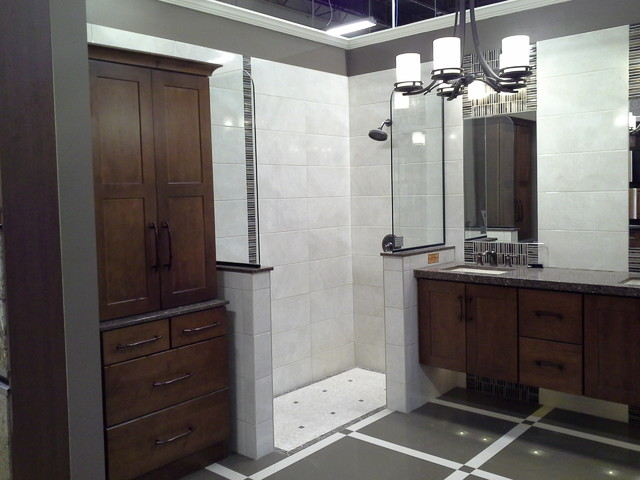 Bathroom projects contemporary bathroom chicago by for Midwest kitchen and bath