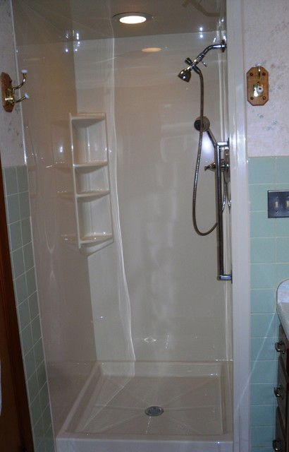 Bathroom projects traditional bathroom new york by for New york sash bathrooms