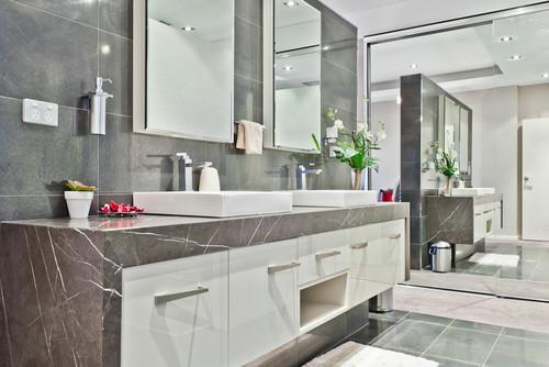 Badkamer Met Marmer : 3x marmer in badkamer wagemaker marmer & graniet