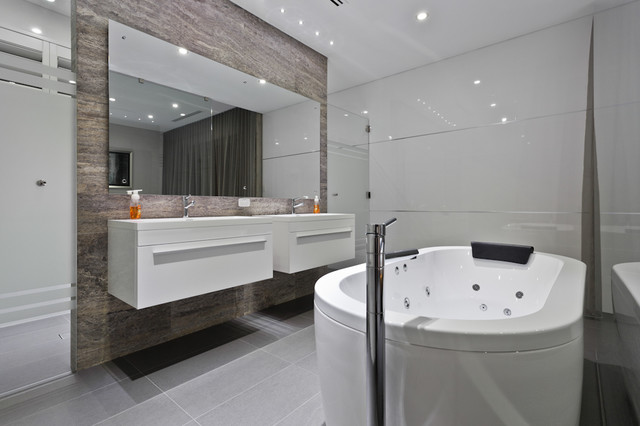 bathroom contemporary bathroom perth by putra indrawan