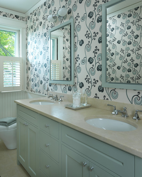 How Do You Prevent Peeling Paint Wallpaper In The Bathroom