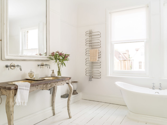 Bathroom radiator - Orbit towel radiator - Skandinavisch ...
