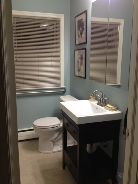 Bathroom redesign traditional bathroom dc metro by for Simply bathrooms