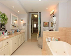Bathroom Redesign/Remodel of a Westwood Condo modern bathroom