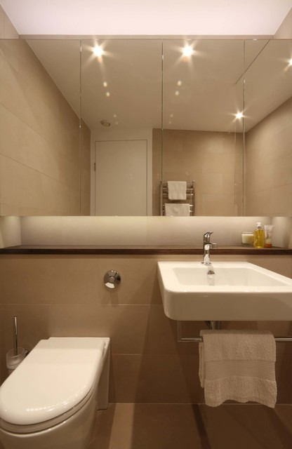 Bathroom redesign vauxhall london contemporary Bathroom design company london