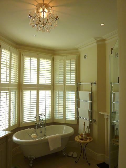 Bathroom refurbishment in North London - Transitional - Bathroom ...