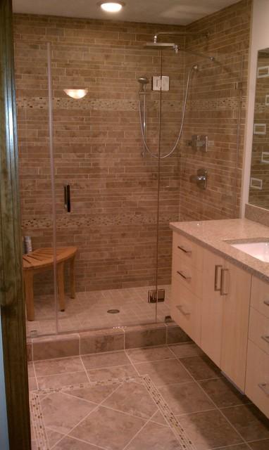 Bathroom Remodel 1 Contemporary Bathroom cleveland
