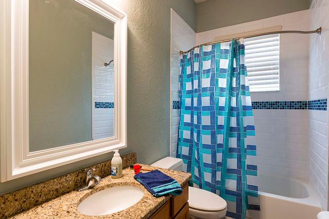 Bathroom remodel and tile floor in orlando florida for Bathroom decor orlando