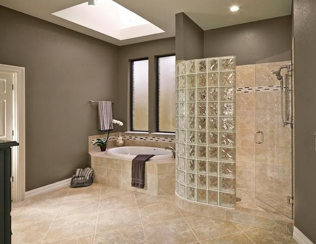 Bathroom Remodel - Bent Tree North 2 contemporary-bathroom