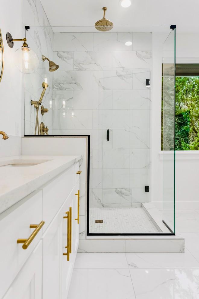 Bathroom Remodel Calabasas Transitional Los Angeles Eco Renovate Pros