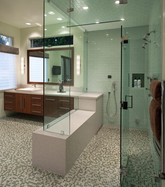 Bathroom remodel contemporary bathroom san diego for Bathroom remodel san diego