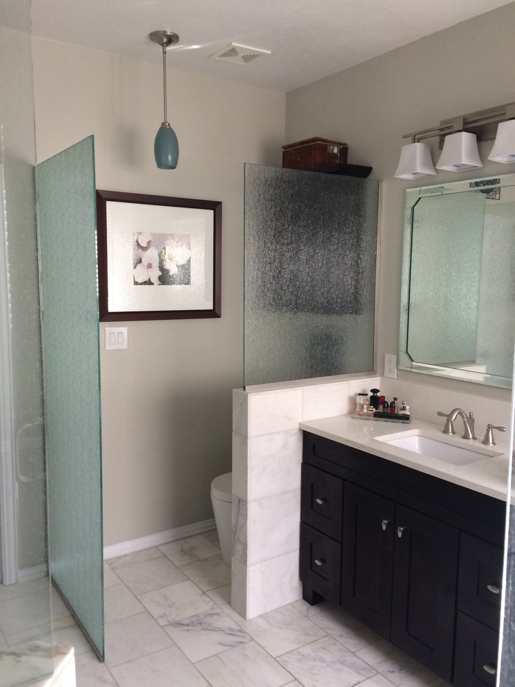 Bathroom Remodel - Contemporary - Bathroom - Dallas - by ...