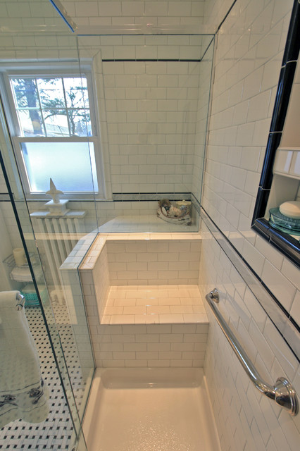 Bathroom Remodel Custom Tile And Shower Enclosure Built In
