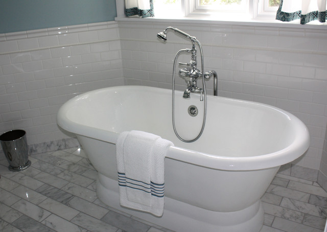 Bathroom Remodel Free Standing Tub Traditional