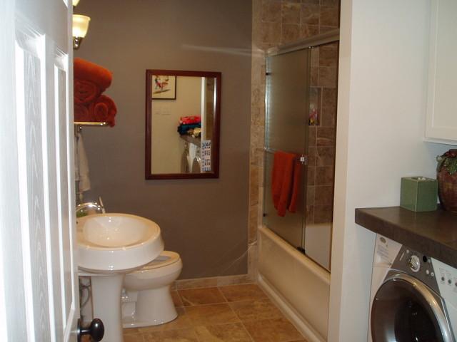 Bathroom Remodel Guest Bath W Laundry Room Combo