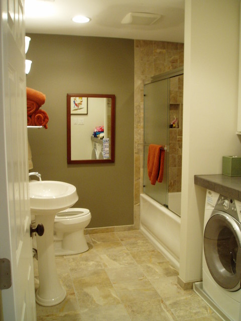 Bathroom Remodel - Guest Bath w Laundry Room Combo