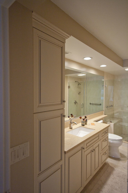 bathroom remodel in brookline traditional bathroom boston by