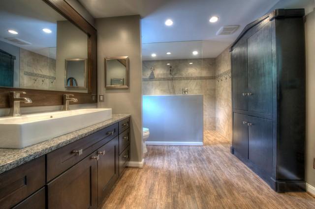 Bathroom Renovation in Herndon, VA traditional-bathroom