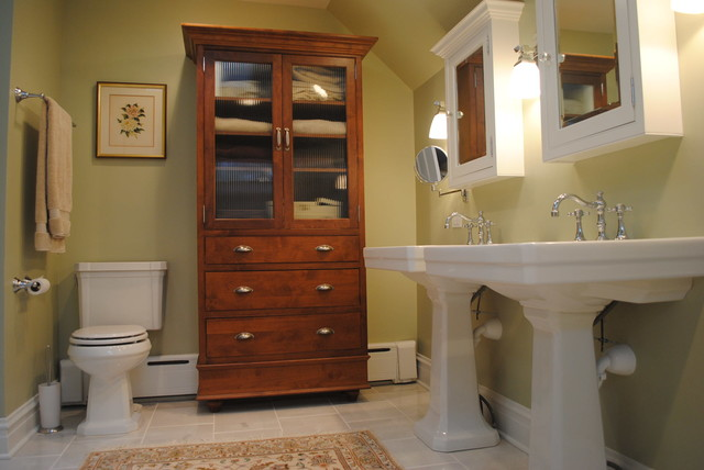 Bathroom remodel in historic home for Remodeling old homes