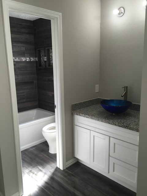 Elegant Bathroom Remodel In Houston TX Transitional Bathroom Houston By Seek