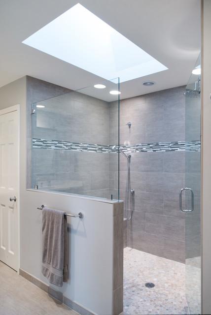 Bathroom remodel in overland park modern bathroom for Bathroom remodel kansas city