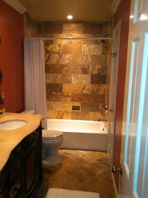 Bathroom overhaul in Vienna, VA traditional-bathroom