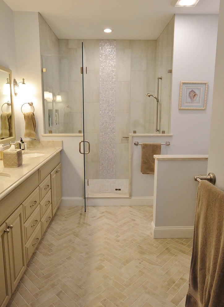 Bathroom Remodel in Wilmington, DE - Transitional ...