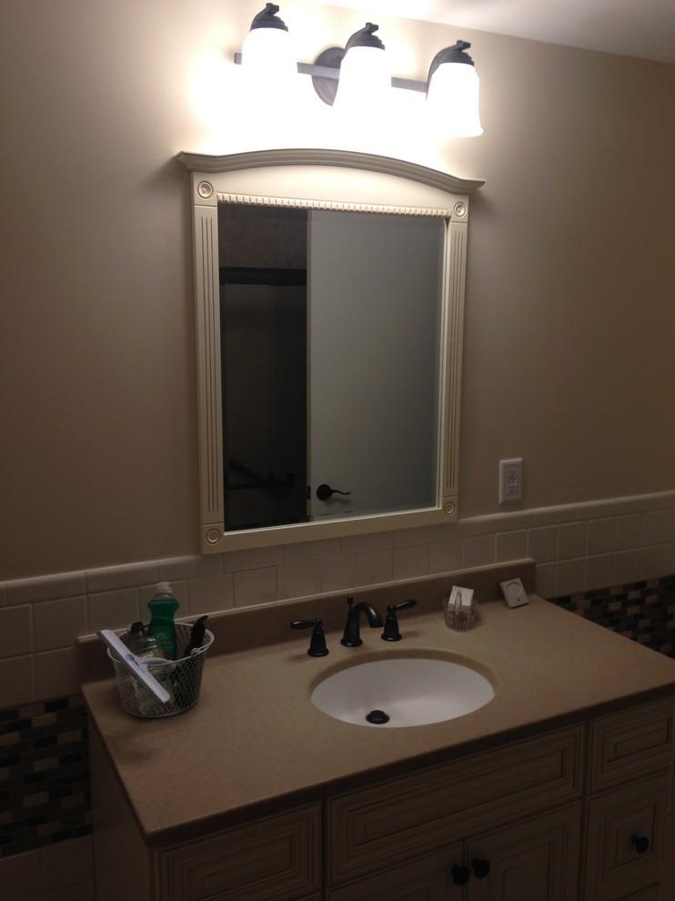 Bathroom Remodel - Kettering, OH - Sierra Sand/Bamboo ...